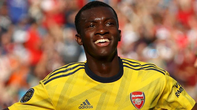 Edward Nketiah Arsenal FC