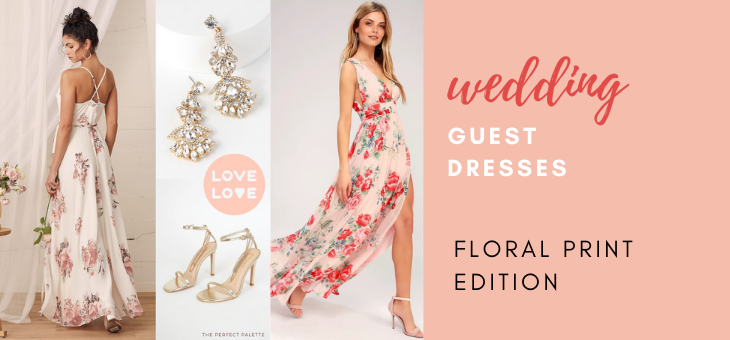 Floral Print Wedding Guest Dresses You ll Love