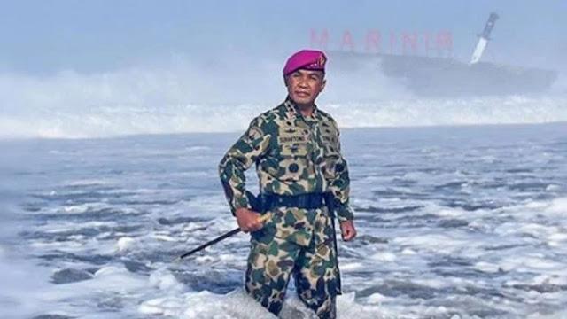 Marinir TNI Latihan Perang di Samudera Paling Misterius di Dunia