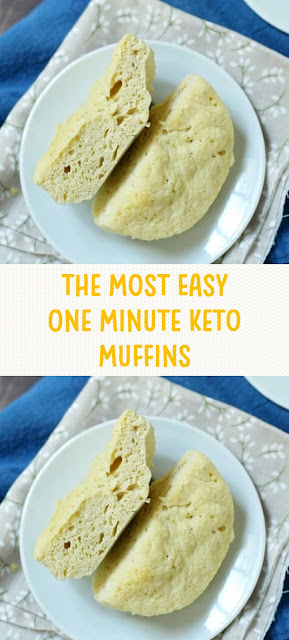 The Most Easy One Minute Keto Muffins
