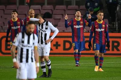 ملخص وهدف فوز برشلونة علي ليفانتي (1-0) الدوري الاسباني