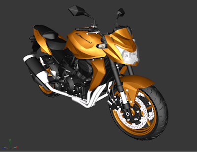 GTA SA - Z750 3D 2