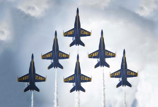 Los Blue Angels volarán el F18 Super Hornet a partir de 2021, fin de la era Hornet