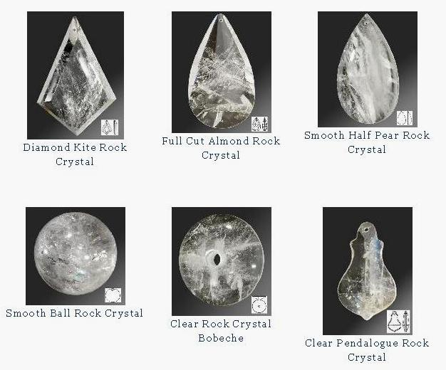 These unique crystals for chandeliers are wise investments