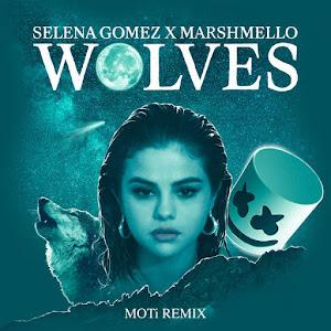 Selena Gomez & Marshmello - Wolves (Remixes) - Singles Cover