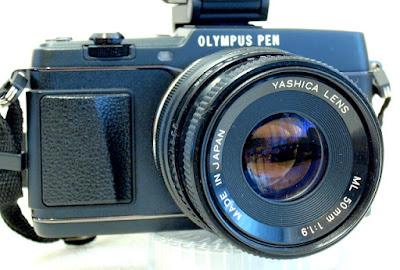 Olympus Pen E-P5, Yashica ML 50mm F1.9