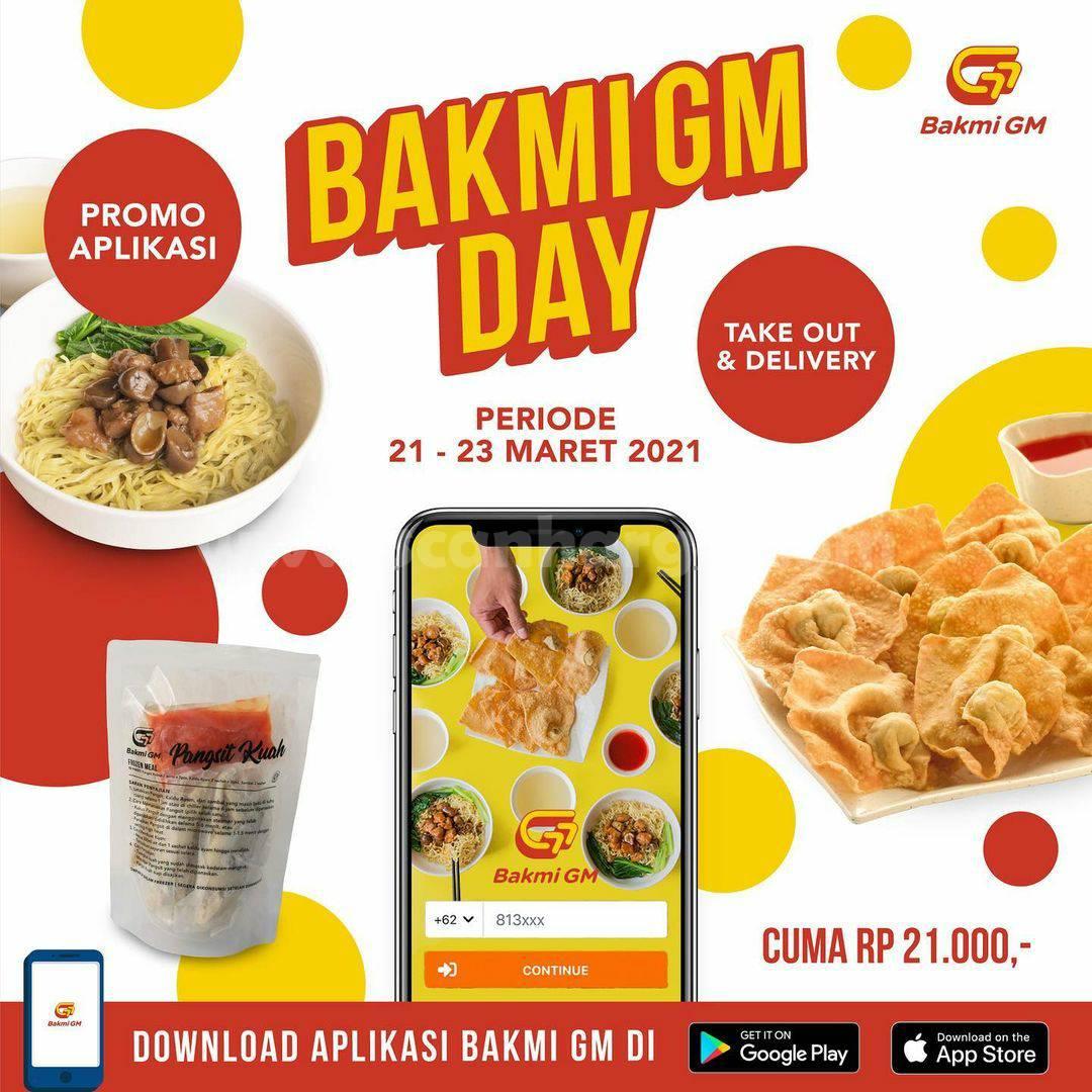 BAKMI GM PROMO BAKMI GM DAY – Harga Special Menu cuma Rp. 21.000