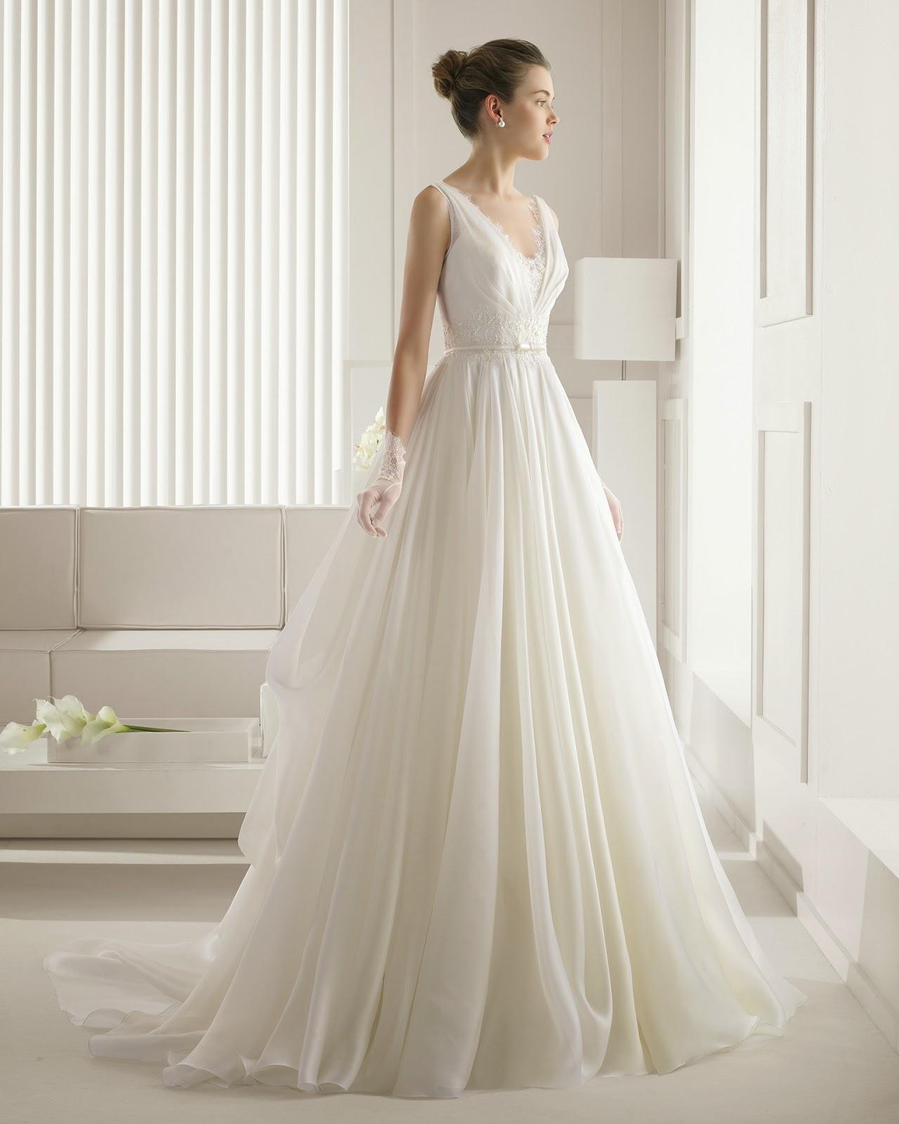 8241886a5 ▷ 10 vestidos de novia románticos para tu boda - ▷ Blog de bodas ...