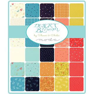 Moda Desert Bloom Fabric by Sherri & Chelsi for Moda Fabrics