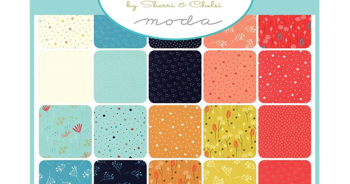 Crazy Quilt Girl Fabric Shop Moda Desert Bloom Fabric