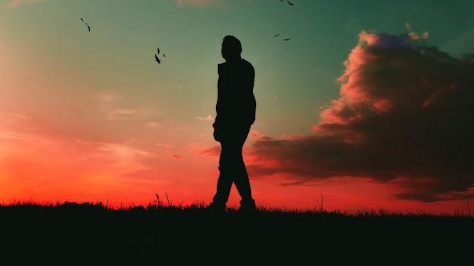 Entardecer, Sozinho, Caminhando, Solidão