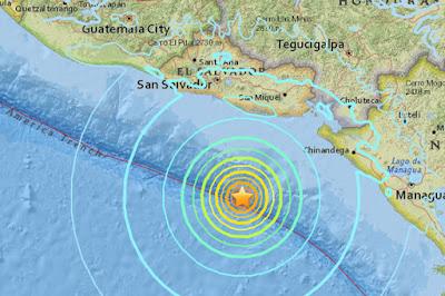 terremoto e furacão el salvador