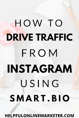 Are you struggling to drive traffic from Instagram? In my blog post I show you how to use a free tool to drive traffic from Instagram. #instagramtips #bloggingtips #onlinebusinesstips