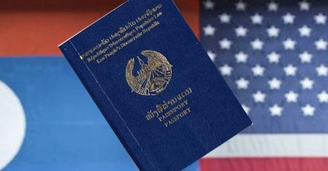 Mỹ ngưng cấp visa cho công dân Lào