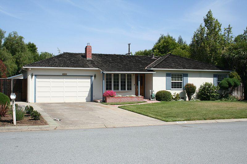 Childhood family home of Steve Jobs