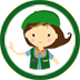 Growing Girls Scouting Helpers Logo