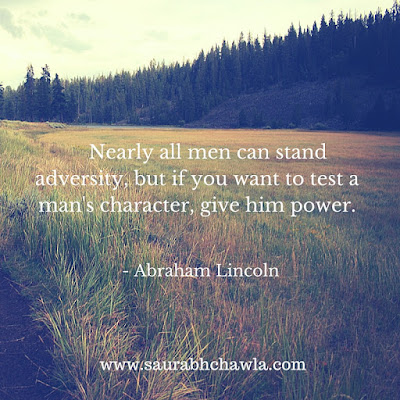 power quotes by Abraham Lincoln