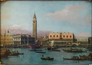 Venice in the days of Austrian rule, as depicted by the  18th century artist Canaletto