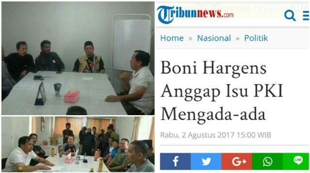 Boni Hargens Anggap Isu PKI Mengada-ada , Acara PKI Berkedok Lokakarya di Klender Digrebek TNI dan Lurah
