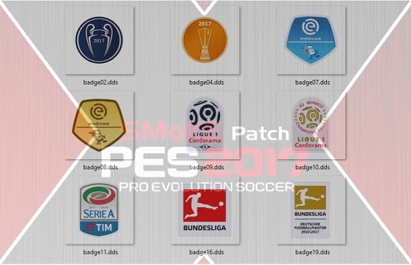 Badges Update for Smoke Patch 9.6.2 PES 2017