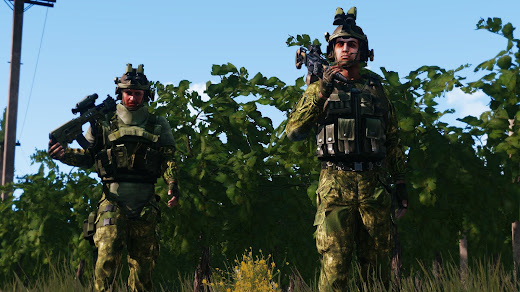Arma3用Malden Defense Forcesアドオン