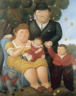 Fernando Botero  pintores Colombianos
