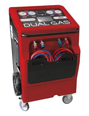 Máy nạp gas sữ dụng loại gas R134a và R1234yf