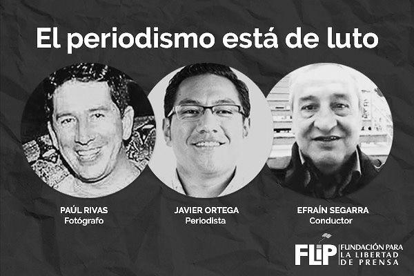 DECLARACIÓN PÚBLICA: Colegio de Periodistas de Chile repudia asesinato de equipo de prensa de diario ecuatoriano