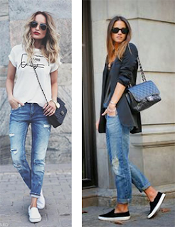 Na moda - boyfriend jeans