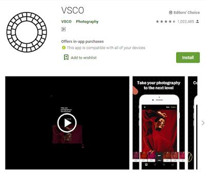 Kamera VSCO