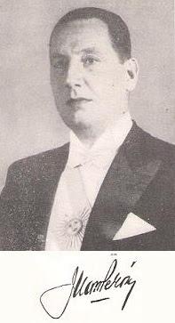 Juan Domingo Perón y su firma