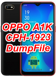 Oppo A1k CPH1923 Dump File Download For Deadboot Repair,Unbrick And Logo Fix.