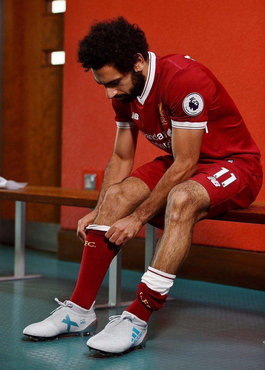 محمد صلاح داخل نادي ليفربول