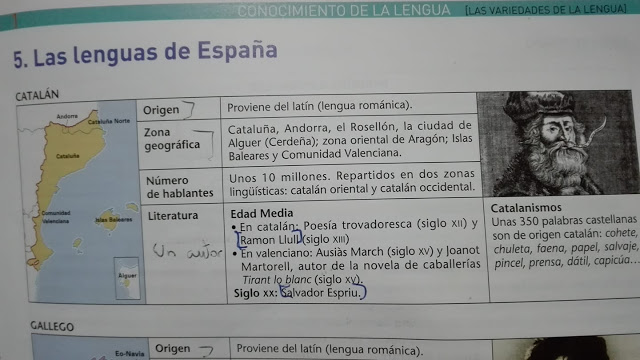 lenguas España, instituto Valderrobres