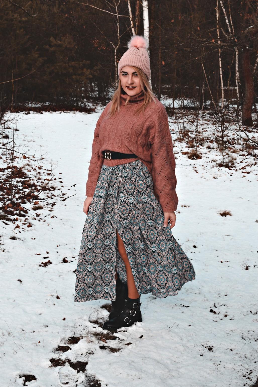 Zimowo-wiosenna stylizacja