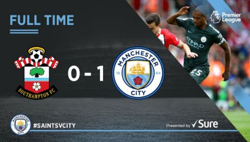 Southampton vs Manchester City 0-1 Video Gol Highlights
