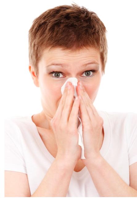 Girl Getting Sick