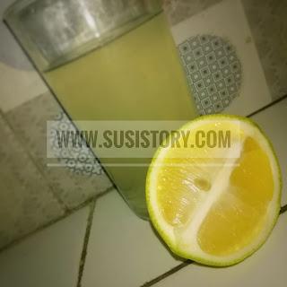 lemon hangat cegah corona