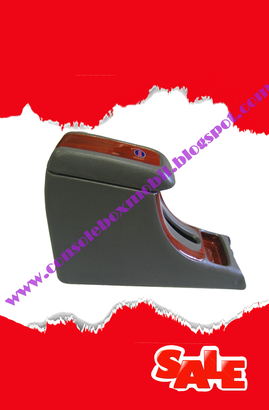 console box grand new avanza panjang 09 abu wood mobil