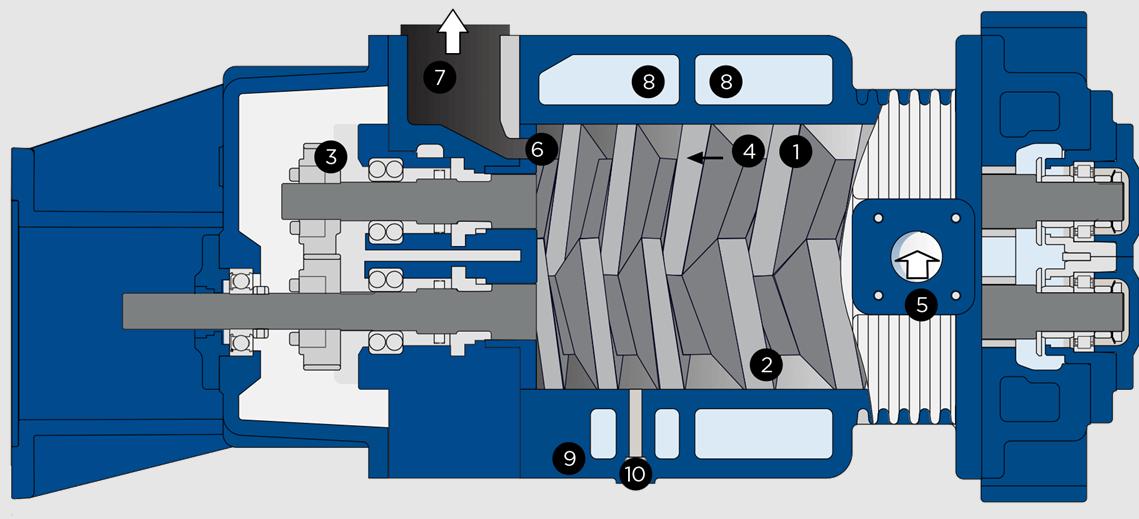 Tìm hiểu về bơm chân không trục vít/Dry screw vacuum pump