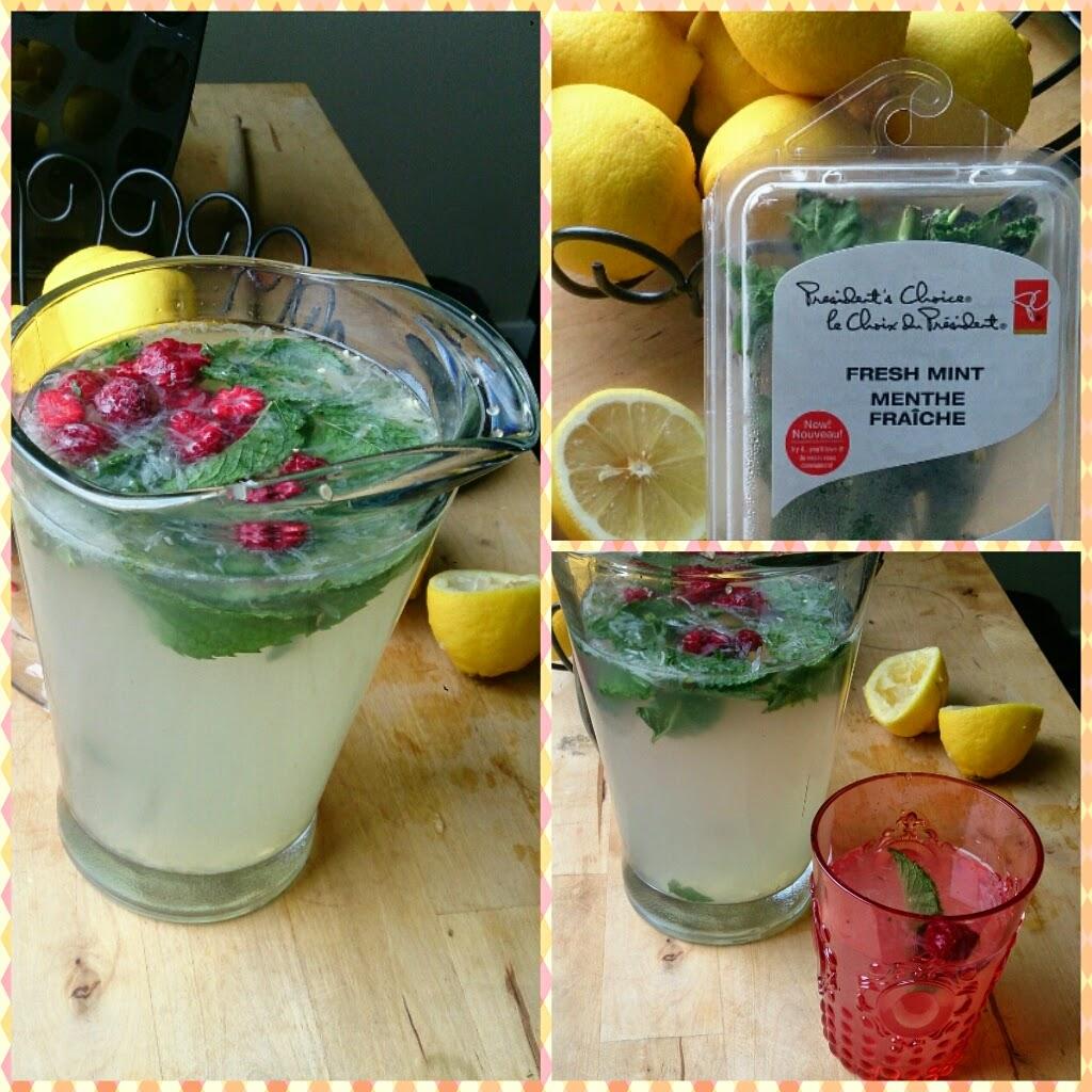 I Love Glitter: Favorite Summer Drinks: Mint Lemonade