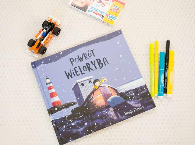 książka dla dzieci Powrót wieloryba Benji Davies