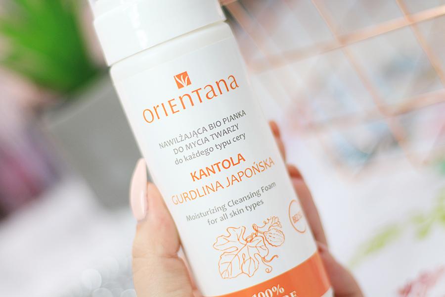 Orientana, BIO Nawilżająca Pianka do mycia twarzy KANTOLA