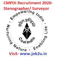 CMPDI Recruitment 2020, Stenographer, Surveyor