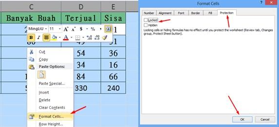Cara Mengunci Rumus di Excel
