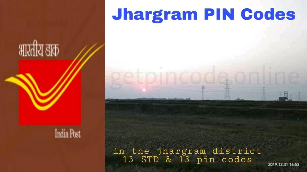 Jhargram District Pin Code, pin code in Jhargram, get pin code