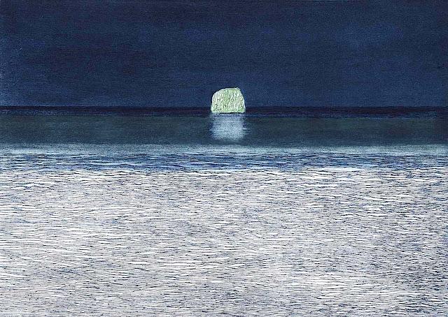 Karina Mendreczky 1988 art, iceburg