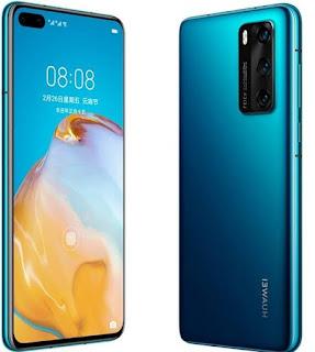هواوي بي ٤٠ ٤جي Huawei P40 4G الاصدار : ANA-AL00