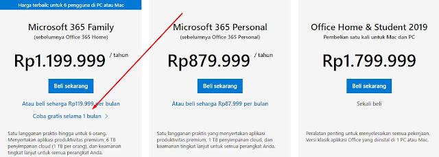 Cara Membuat Akun Microsoft Office 365 Gratis [Terbaru]