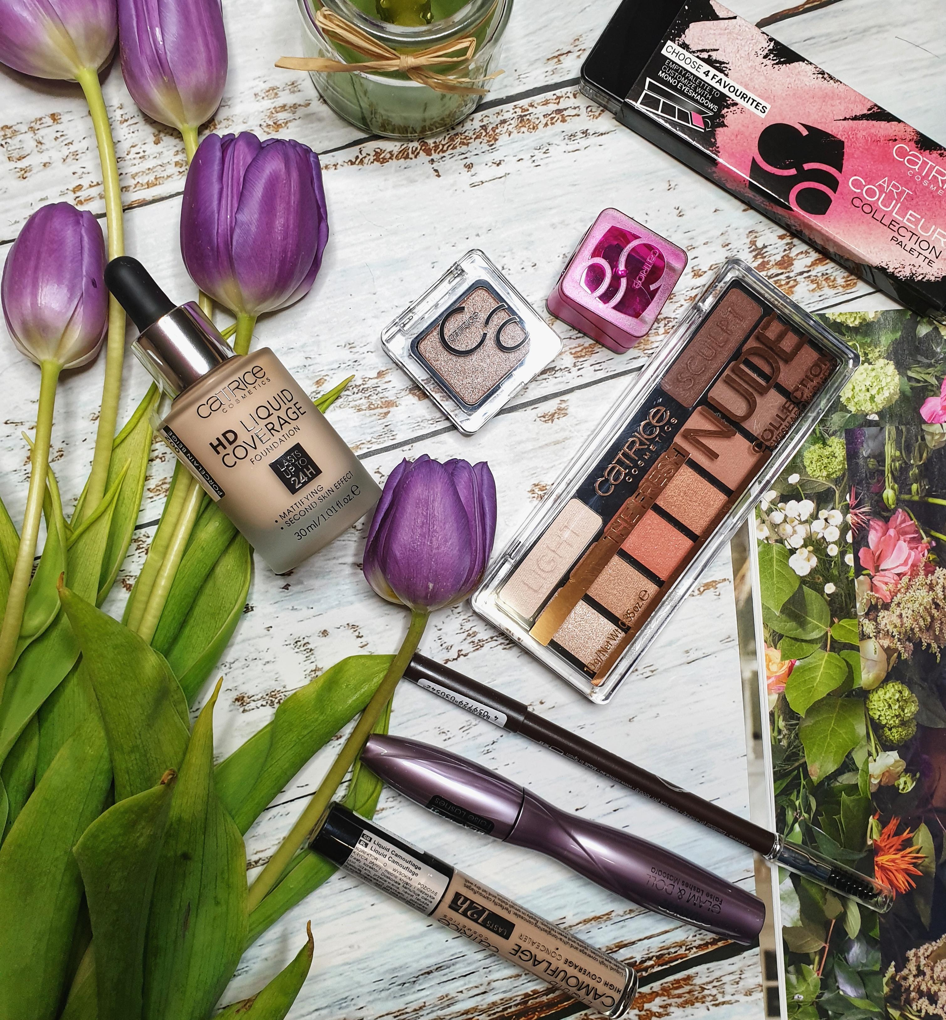 Makijaż kosmetykami marki Catrice
